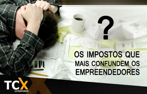 Os impostos que mais confundem os empreendedores