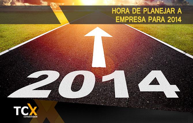 Planejando a empresa para 2014