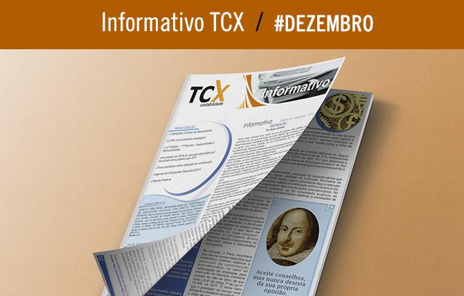 Informativo TCX Contabilidade – Dezembro