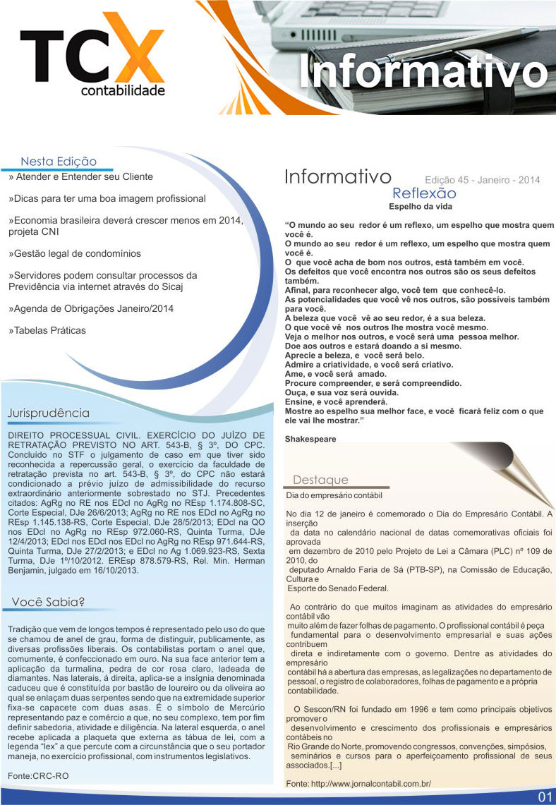 Informativo-TCX-Janeiro-01