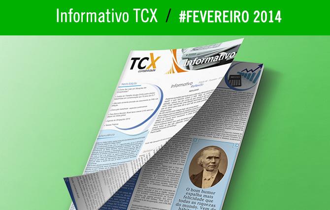 Informativo TCX Contabilidade – Fevereiro
