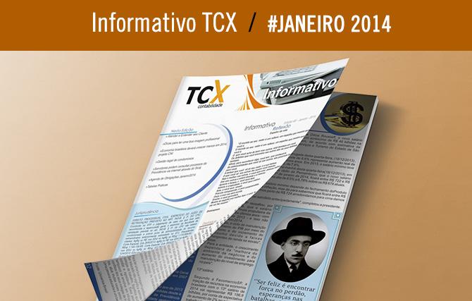 Informativo TCX Contabilidade – Janeiro