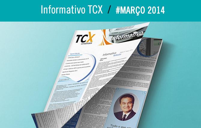 Informativo TCX Contabilidade – Março