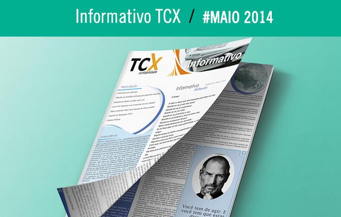 Informativo TCX Contabilidade – Maio