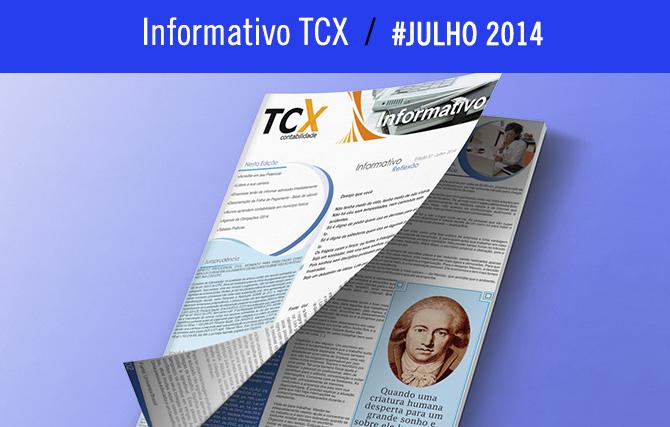 Informativo TCX – Julho