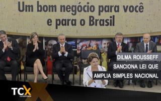 Dilma Rousseff Sanciona Lei Que Amplia Simples Nacional