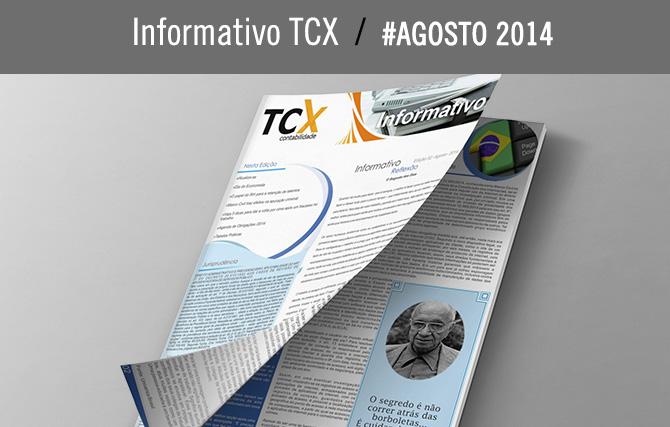 Informativo TCX – Agosto