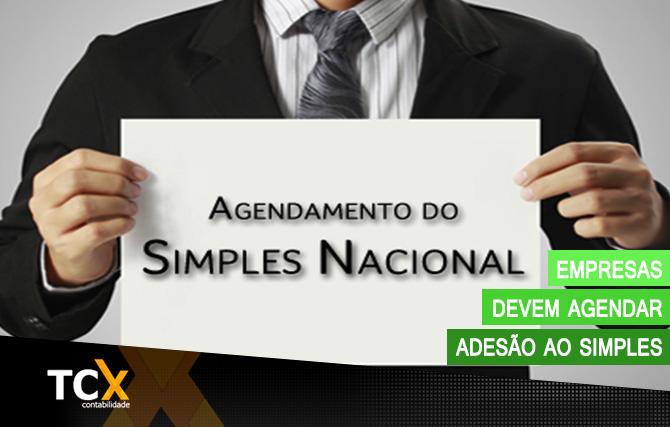 Empresas devem agendar adesão ao Simples Nacional