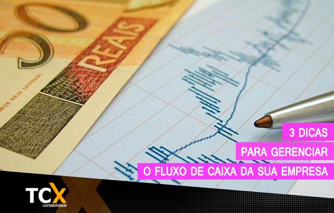 DICAS FLUXO DE CAIXA
