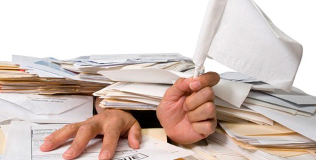 A burocracia acaba com você?